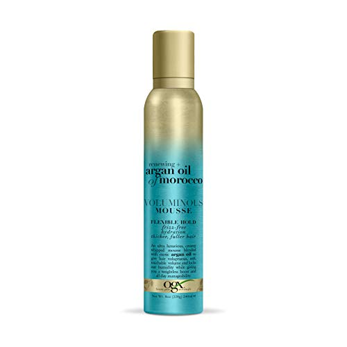 Price comparison product image OGX Renewing + Argan Oil of Morocco Voluminous Mousse,  8 Ounce