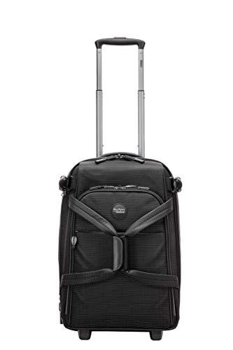 Stratic Go Rollenreisetasche S 55 cm, 38 L, Black-White