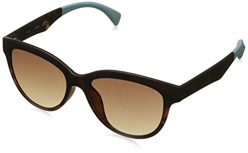GUEX5 GU7433 5352F Sonnenbrille GU7433 5352F Schmetterling Sonnenbrille 57, Braun