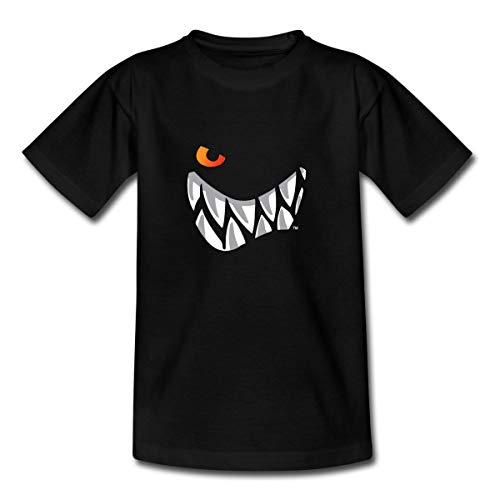 Die Wilden Kerle Grinsen Teenager T-Shirt, 134-146, Schwarz