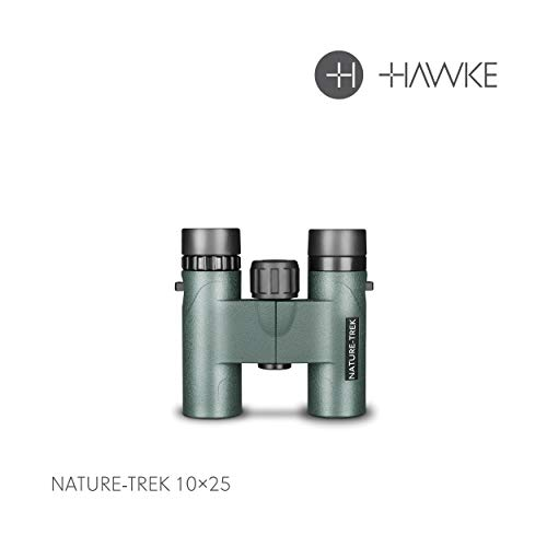 Hawke Nature-Trek 10x25 Fernglas, grün, M