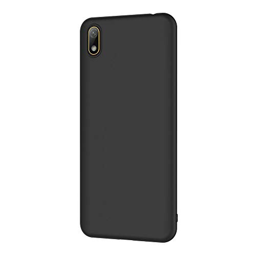 AICEK Compatible Huawei Y5 2019 Hülle, Schwarz Silikon Schutzhülle für Huawei Y5 2019 Case TPU Bumper Huawei Y5 2019 Handyhülle (5,71 Zoll) - 2