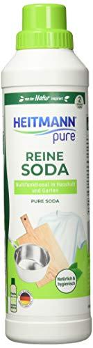 HEITMANN pure Reine Soda (flüssig), Transparent, 750ml