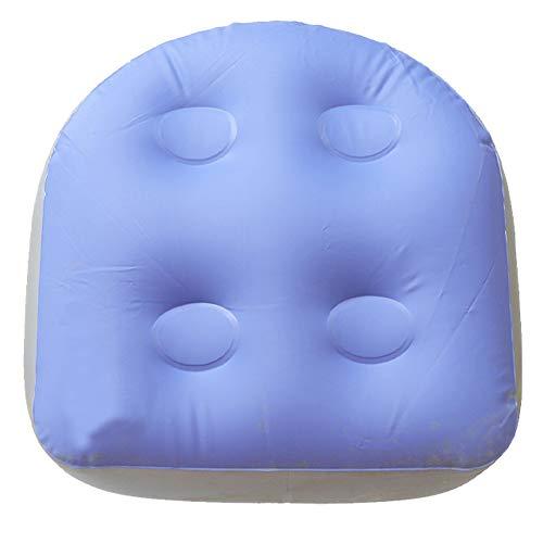Spa y Whirlpool Booster Seat - Cojín de masaje hinchable con ventosas para adultos y niños