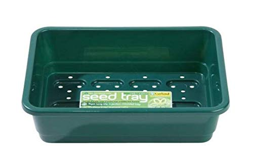 Garland Saatschalen Standard halbe Größe grün mit Löchern 23x11x17 cm 6 Stück