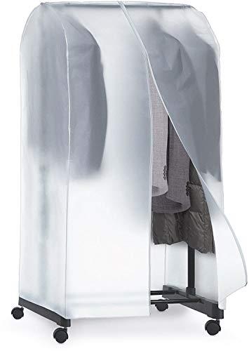 LEYENDAS Custodia protettiva appendiabiti portatile trasparente - 95 x 50 x 160 cm