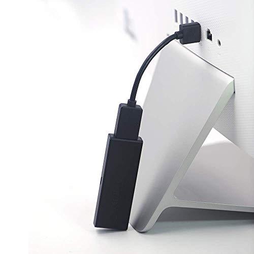 VCE 2 stück Hochgeschwindigkeits HDMI Verlängerungskabel Hdmi Verlängerung Extension TV Stick Adapterkabel 12cm