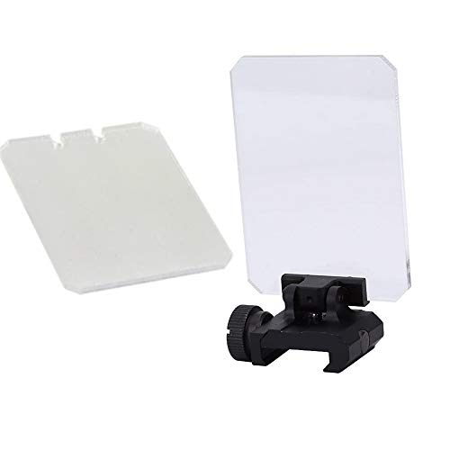 Persei Foldable Sight Scope Lens Screen Protector Shield Panelfor Airsoft Tactical Scope Red Dot