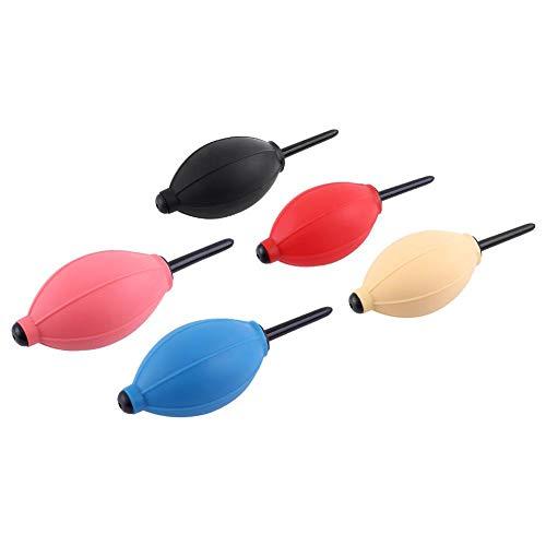 Trockner für Wimpernverlängerung, weiches Silikagel Luftgebläse Luftpumpe klebender Mini Staubsauger Blasen Luftballons Werkzeug individuelle falsche Wimpernverlängerung(Rosa)