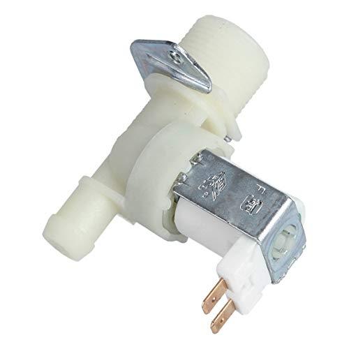 Magnetventil Wassereinlaufventil Einlaufelektroventil Wasserelektroventil Ventil UNIVERSAL einfach 1-fach 180C 14mm Waschmaschine Waschautomat Waschgerät