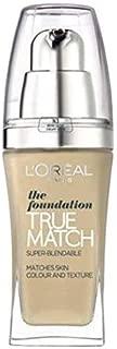L'oreal New True Match Foundation - 30 ml, 4.N Beige