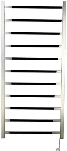 TUHFG Toallero Eléctrico Bajo Consumo Barra de Pared Calentador de Toalla de Pared en eficiencia energética 110 W Toallas eléctricas eléctricas (1200 × 560 × 110mm), complemento (Color : Plugin)