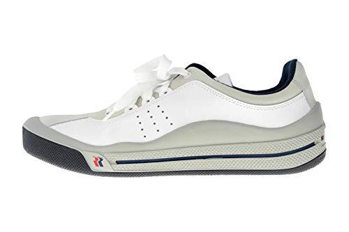 Romika Tennis Master 201 41006 96 000 Chaussures de sport grandes tailles pour homme Blanc - Blanc - Blanc, 47 EU