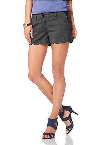 Shorts Damen von Buffalo in Anthratzit / Grau - Gr. 42
