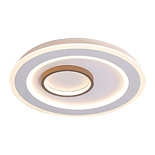 SLL- Plafond Lamp LED Creative slaapkamer lamp ∅42cm / ∅52cm Simpel (Color : Stepless dimming, Size : Diameter52cm)
