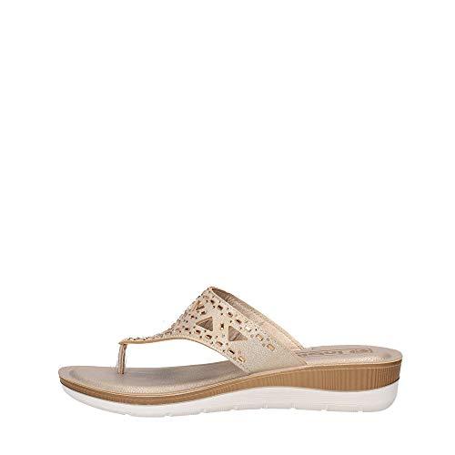 Inblu - Chanclas para mujer BV-15, color arena, zapatillas de mujer para...