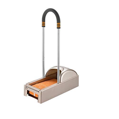 AXIANQI ABS-material automatisk guld avtagbart armstöd skofilm maskin för äldre och barn lätt att använda skoskydd maskin sula lamineringsmaskin (skicka skofilm 600) 77 x 51 x 21 cm sko co