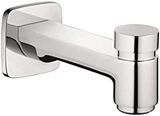 hansgrohe Tub Spout with Diverter Premium 3-inch Modern Tub Spout in chrome, 71412001