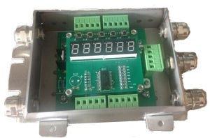 RS232 Wägewaage Wägezelle Verstärker DJ04 4-20 mA Digital Abzweigkasten Gewichtssender für Wägezelle