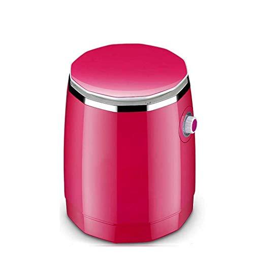 Mini Lavadora Portátil, Portátil, Enjuague Que Se Lava Que Acampa, Mini Máquina De Lavandería, Efecto De Desecación Sin Goteo Mini Portátil Pequeña Capacidad 1.8Kg 260W,Red
