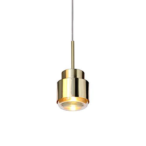 William 337 kroonluchter, lampen met enkele kop, Nordic lampen, bank, creatieve koffieserop, slaapkamer, nachtkastje, gepersonaliseerd, gouden afzonderlijke lampen, energieklasse A +