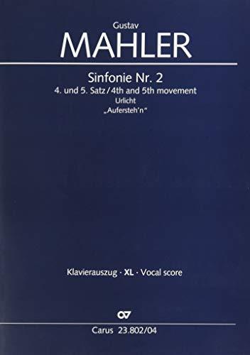 Symphonie Nr. 2 (Klavierauszug XL): 4. und 5. Satz