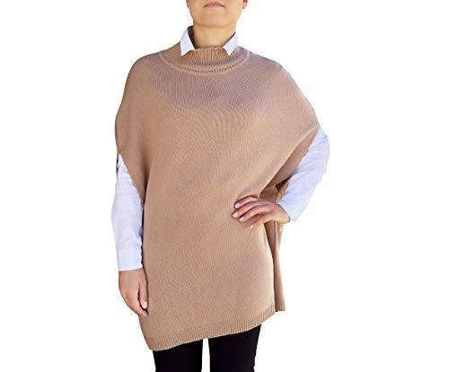 Gran Tamaño Manta Capas Mujer 100% Cachemir - Made