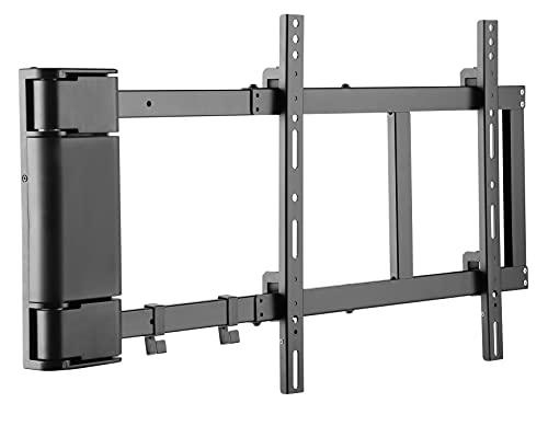 Sat-Fox Supporto da parete elettrico per televisori a schermo piatto 32-60 pollici (81-152 cm), portata 40 kg, motorizzato, nero