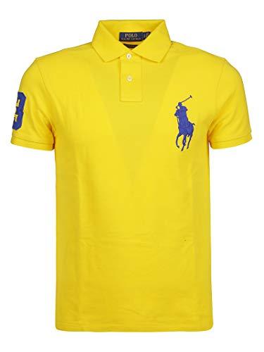 Ralph Lauren Luxury Fashion Herren 710692227026 Gelb Baumwolle Poloshirt | Jahreszeit Outlet