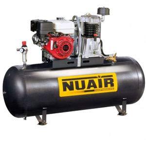 Nuair - Compresseur d'air à piston, moteur HONDA, 200L 9CV