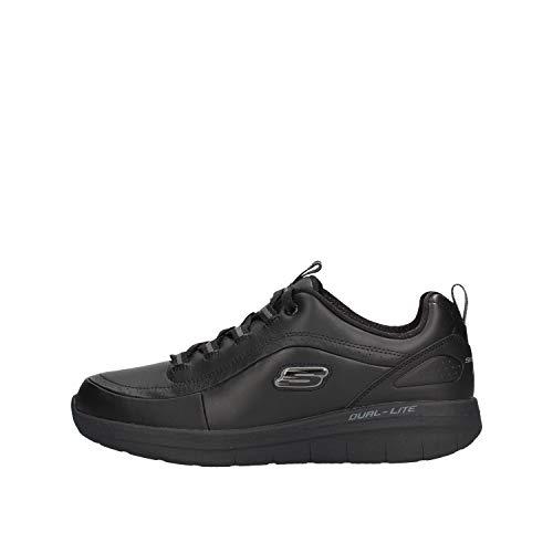 Skechers Uomo Sinergy 2.0 WESTMARSH Black Scarpe Comode Memory Foam (40 EU)
