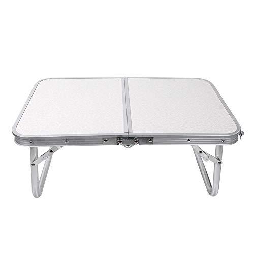 Mesa plegable portátil, mesa plegable portátil de aleación de aluminio para la comida campestre que acampa al aire libre