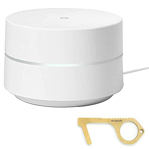 Google WiFi System, Router Replacement for Whole Home Coverage with Clean Key - 1 Pack, Bulk Packaging - White