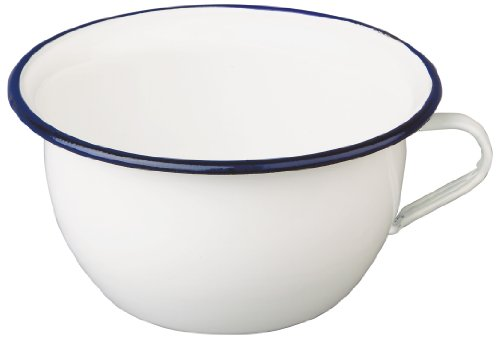 IBILI 903524 - Orinal de acero esmaltado vitrificado 24 cm Blanca