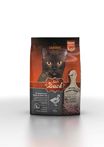 Leonardo Adult Duck [400g] Katzenfutter | Trockenfutter für Katzen | Alleinfuttermittel für ausgewachsene Katzen Aller Rassen ab 1 Jahr