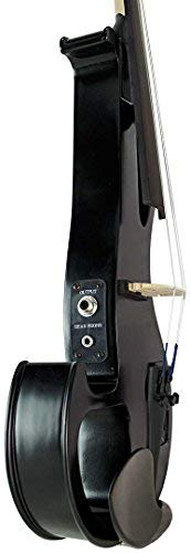Bunnel EDGE Clearance Electric Violin Outfit BE300 (Jet Black)