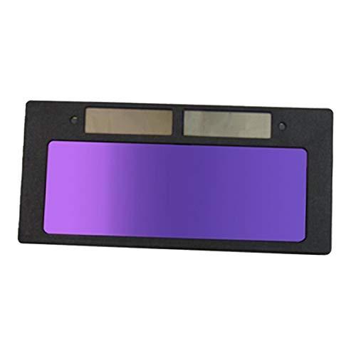 kowaku Casco para Soldar Lente Filtro de Pantalla Oscurecimiento Automático Filtro Horizontal Máscara Lente