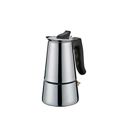 Cilio Espressokocher Adriana, 2 Tassen, Edelstahl, Induktion geeignet