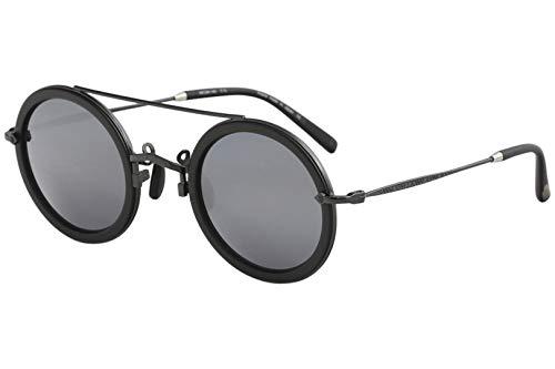 Matsuda Men's M3039 M/3039 RTM Ruthenium/Black Fashion Round Sunglasses 49mm