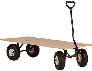 Farm-Tuff Flatbed Garden Wagon - 1,000-Lb. Capacity, 48in.L x 24in.W, Model Number FRW