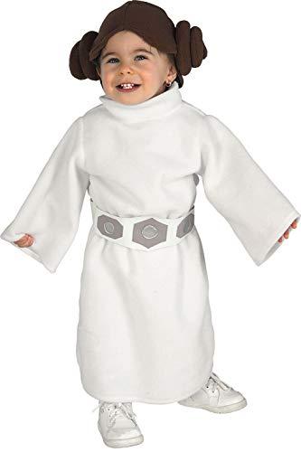 Rubies 's–Disfraz de oficial de Disney Star Wars Leia infantil, los niños–infantil