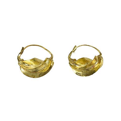 Pendientes fulani dorados Talla XS