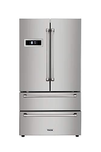 Thor Kitchen Automatic Ice-maker, 36inch Refrigerator with Counter...
