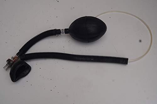 Lagermaulwurf Inhalator Beatmungsset Gasmaske Gummischlauch Poppers