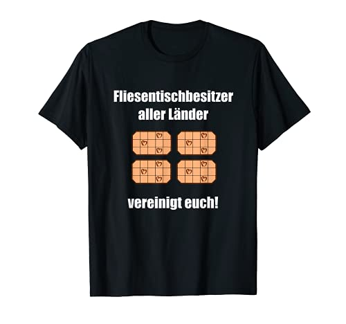 T Shirt Proletarier - Mesa de azulejos Camiseta