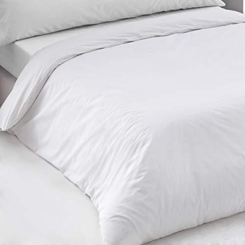 Sedalinne Sábanas HOTELES - Funda Nórdica Calidad (200 Hilos) Percal 100% algodón. Cama 150 cm