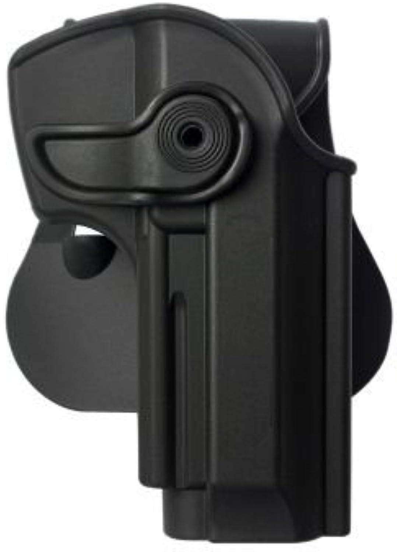 Taurus PT 92 With Rail Polymer Retention redo Holster Black and a genuine IGWS's firing range earplugs kit.