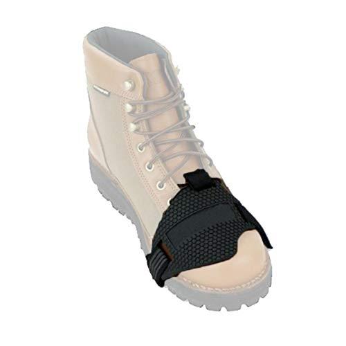 AIHOME Zapatos de motocicleta de goma para cambio de marchas, zapatos de cambio de marchas, botas protectoras de cambio de marchas y protectores de cambio de color negro