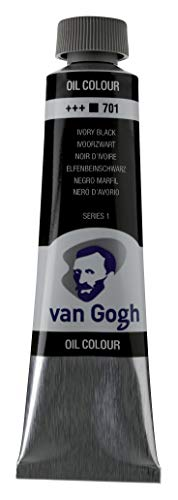Royal Talens : Van Gogh Oil Paint : 40ml : Ivory Black S1