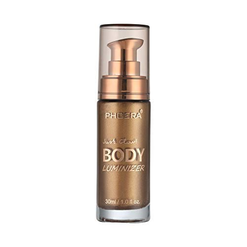 Liquid Illuminator, Firstfly Body Highlighter Makeup Smooth Shimmer Glow Liquid...